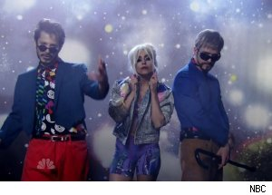 Andy Samberg, Justin Timberlake &amp; Lady Gaga, 'Saturday Night Live'