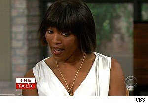 Angela Bassett on 'The Talk'