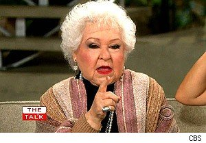Estelle Harris on 'The Talk'