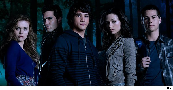 The cast of MTV's 'Teen Wolf'