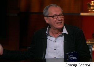Geoffrey Rush, 'The Colbert Report'