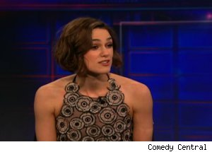 Kiera Knightley, 'The Daily Show with Jon Stewart'