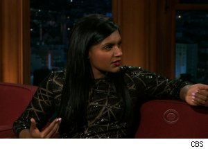 Mindy Kaling, 'The Late Late Show with Craig Ferguson'