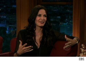 Courteney Cox, 'The Late Late Show with Craig Ferguson'