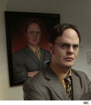 Will Dwight become the permanent manager of Dunder-Miflin or will one of the many candidates appearing in tonight's finale of 'The Office' become the new leader?