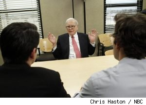 Warren Buffett in 'The Office' - 'Search Committee'