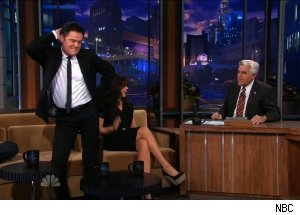 Donny and Marie Osmond, 'The Tonight Show with Jay Leno'