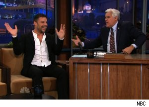Ricky Martin, 'The Tonight Show with Jay Leno'
