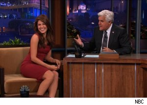 Eva Mendes, 'The Tonight Show with Jay Leno'