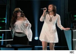 Serabee & Dia Frampton, 'The Voice'