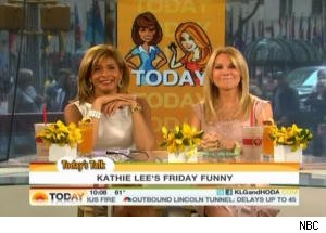 Kathie Lee Tells a Bad Chuck Norris Joke on 'Today'