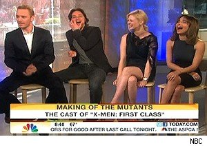 The cast of 'X-Men: First Class' on 'Today'