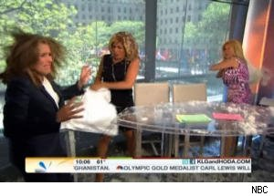Kathie Lee and Hoda Attack Meredith Vieira With Pillows on 'Today'
