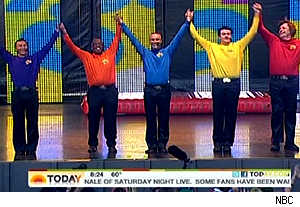 Al Roker joins The Wiggles on 'Today'