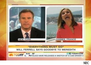 Will Ferrell Bids a Fond Farewell to Meredith Vieira on 'Today'