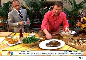 Matt Lauer and Bobby Flay on 'Today'