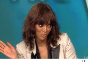 Tyra Banks Dishes on Brittani's Fall During 'Top Model' Finale