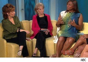 Queen Latifah talks about Oprah Winfrey on 'The View'