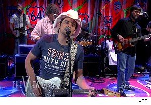 Brad Paisley and Alabama on 'The View'