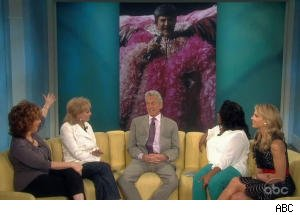 Barbara Walters Offers Kissing Practice to Michael Douglas on 'The View'