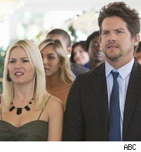 Elisha Cuthbert and Zachary Knighton