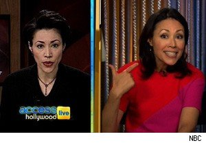Ann Curry on 'Access Hollywood Live'