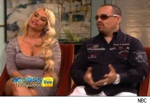 Coco and Ice-T on 'Access Hollywood Live'