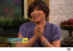 Tisha Campbell-Martin on 'Access Hollywood Live'