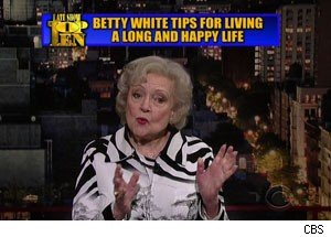 betty white letterman