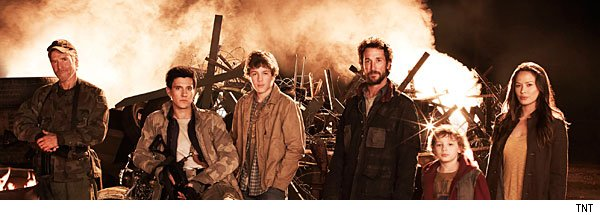 The cast of Falling Skies