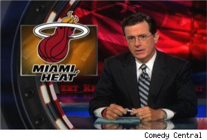 Stephen Colbert vs. LeBron James