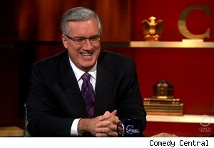 Keith Olbermann talks about Bill O'Reilly and Current TV on 'The Colbert Report'