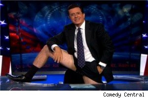 Colbert shorts rebellion