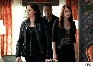 CSI, Jorja Fox, Laurence Fishburne