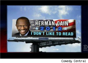 New Herman Cain slogan?