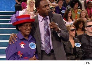 Rena and Wayne Brady on 'Let's Make A Deal'