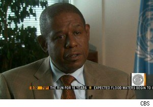 Forest Whitaker on 'The Early Show'