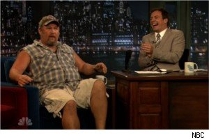 Larry the Cable Guy and Jimmy Fallon