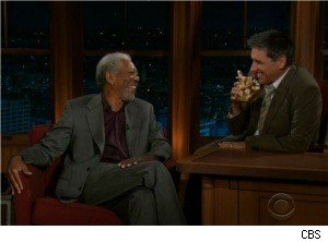 Morgan Freeman and Criag Ferguson