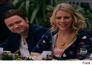 Dan Byrd &amp; Busy Philipps, 'Food Network Star'