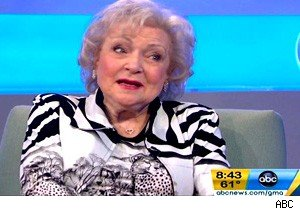 Betty White on 'Good Morning America'