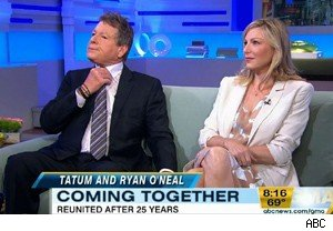 Ryan and Tatum O'Neal on 'Good Morning America'