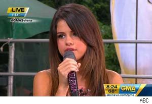 Selena Gomez on 'Good Morning America'