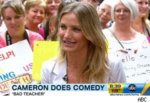 Cameron Diaz on 'Good Morning America'