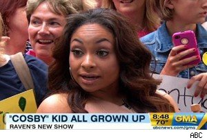 Raven-Symone on 'Good Morning America'