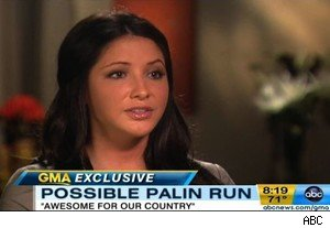Bristol Palin on 'Good Morning America'