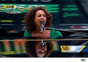 Alicia Keys on 'Good Morning America'
