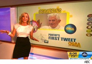 Lara Spencer on 'Good Morning America'