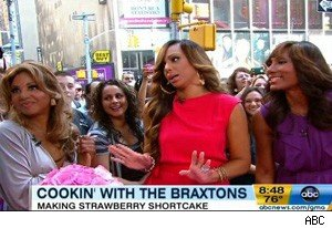 The Braxton family on 'Good Morning America'