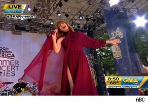 Florence and the Machine on 'Good Morning America'